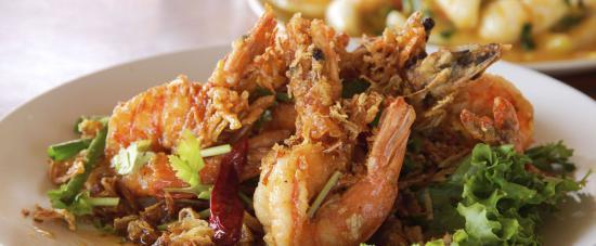 Food at Bangkok Lounge a Thai Restaurant & Takeaway in London